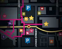 Downtown Sioux City Map