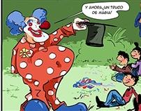 El Payaso del Fin del Mundo. COMIC.