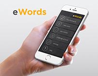 eWords flashcard application