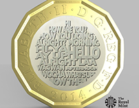 Royal mint design