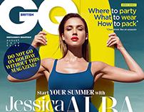British GQ *Jessica Alba*