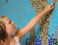 """Growing Through Learning"" A Glass Tile Mosaic"