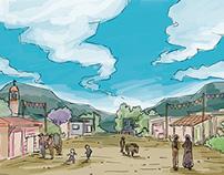 HOMBRE PÁJARO / Storyboard
