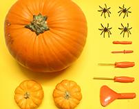 Halloween Pumpkin Carvin' | Stopmotion