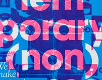 Contemporary (non)sense Silkscreen 2010