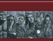 My Avengers Portraits