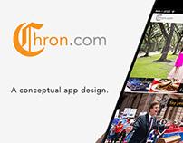 Houston Chronicle App Design