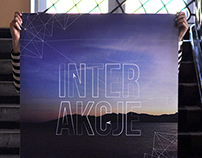 INTERAKCJE - exhibition: idea & visual identity