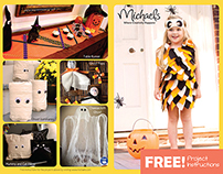 Michaels in-store Halloween promos 2014