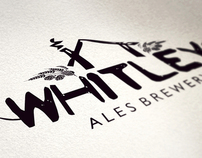 Branding for Whitley Ales - Wales, UK