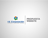 Propuesta website para IS Corporación