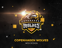 Copenhagen Wolves Web Design