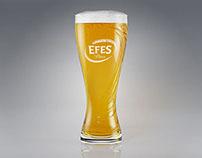 Efes horeca glass render