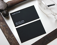 JF Business Card & Logo