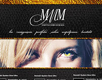 MMM hairdresser | website design