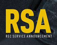 Campaign: Rec Service Announcements