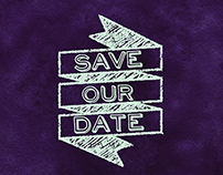 Save the Date and Rehearsal Dinner Invitations