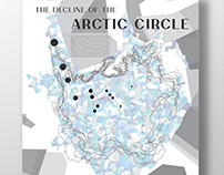 Infographic Map: The Decline of the Arctic Circle