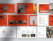 Praxi - Elegant Company Business Presentation