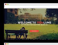 TEDxLUMS Website