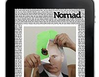 Interactive Ipad App: Nomad Magazine