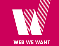 Web We Want Festival, The Web Foundation, Design
