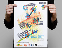 Grameen Social Party A3 Poster