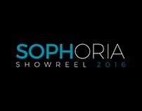 SOPHORIA Showreel 2016