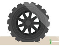 Rolling Tire GIF