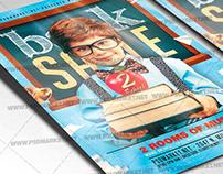 Back 2 School Sale Flyer - PSD Template