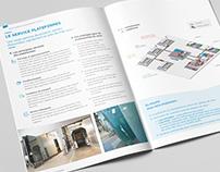 Design graphique d'une brochure produits - St Gobain