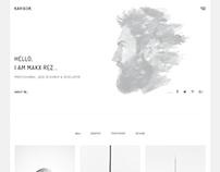 Karigor - Minimal Bootstrap 4 Portfolio Template