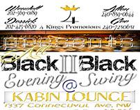 All Black 2 Black Evening Swing..