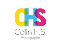 Identité pour Colin H.S. Photographe
