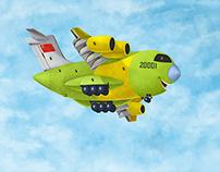 中国战机卡通形象设计之最萌战机