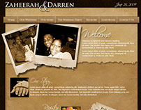 Wedding Website - Darren and Zaheerah