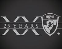 Heys Intl. 25th Anniversary