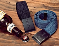 Filter017 Webbing Belt with bottle opener buckle