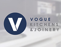 Vogue Kitchens & Joinery Branding