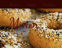 Famosos Bagels / Diseño Web