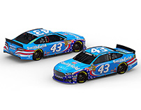 2013 #43 Smithfield 'Made in USA' Ford Fusion
