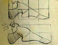 Conceptual study of the foot