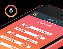 Salonication v3 Smartphone Application UI/UX (2014)