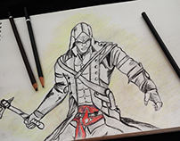 Assassin Creed -- Connor's Sketch