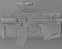 Weapon Modeling in 3DS_Max