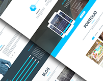 stainy - One Page Responsive WordPress Theme