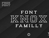 Free Typeface Knox