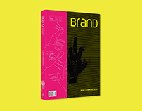 "BranD MAGAZINE issue 2014E ""Hand Communicates"""
