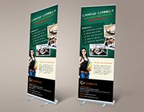 Xceedance Campus Conect Roll-up Banner