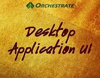 Desktop Application UI